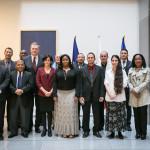 Las conversaciones con representantes de la sociedad civil de Cuba.