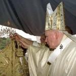 Visita de Juan Pablo ll en Enero de 1998
