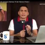 Cuba: Programa de la semana Viernes 19 de Febrero Parte I y II