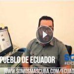 Ayuda para el pueblo de Ecuador