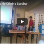 Conferencia impartida por Cristina Escobar…¿Qué le parece?