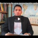 Las contradicciones de una negociación sobre DDHH