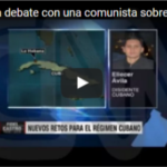 Eliécer Ávila debate con una comunista en CNN sobre la muerte de Fidel