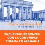 """""""Charla con Eliecer Ávila en Alemania"""""""