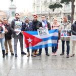 Cubanos en España siguen en acción.