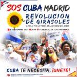 8 de septiembre, Concentración y vigilia a la Caridad del Cobre en Madrid